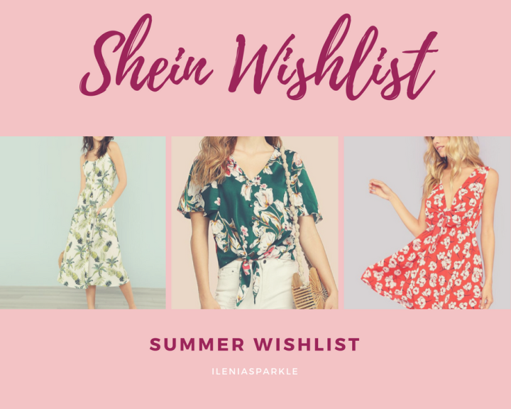 Summer Wishlist from Shein